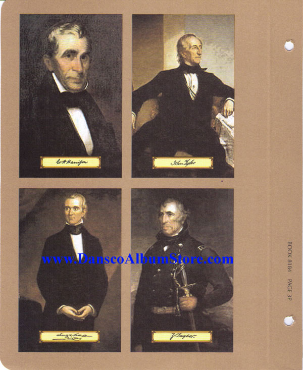 NEW Dansco Coin Album # 8184 For Presidential Dollars W// Proofs From 2007-2011